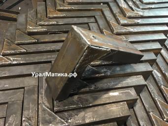 Изготовление кронштейна стального